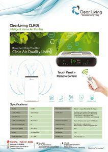 thumbnail of ClearLiving CLK06