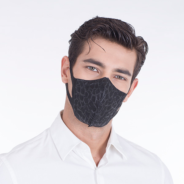 Series X Meo™ Adult 7 – Disposable Black Mask